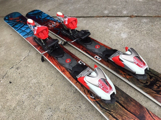 Image of Nordica Enforcer All Mountain 177 Skis with Marker 14.0 bindings