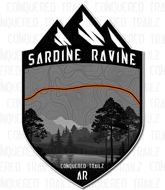 "Image of ""Sardine Ravine"" Trail Badge"
