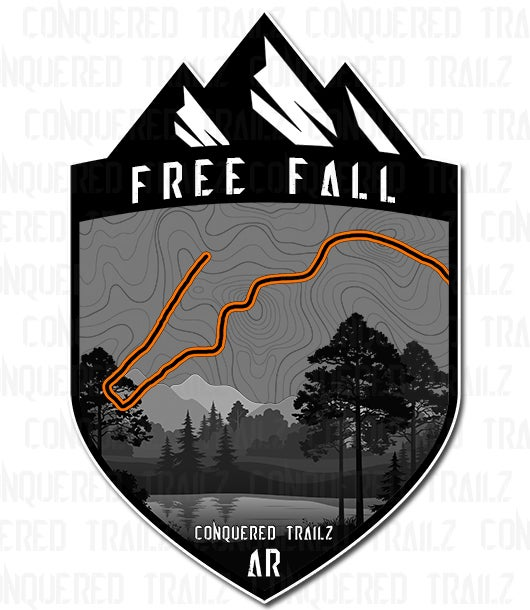 "Image of ""Free Fall"" Trail Badge"