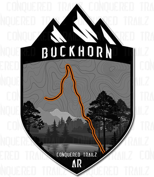"Image of ""Buckhorn"" Trail Badge"