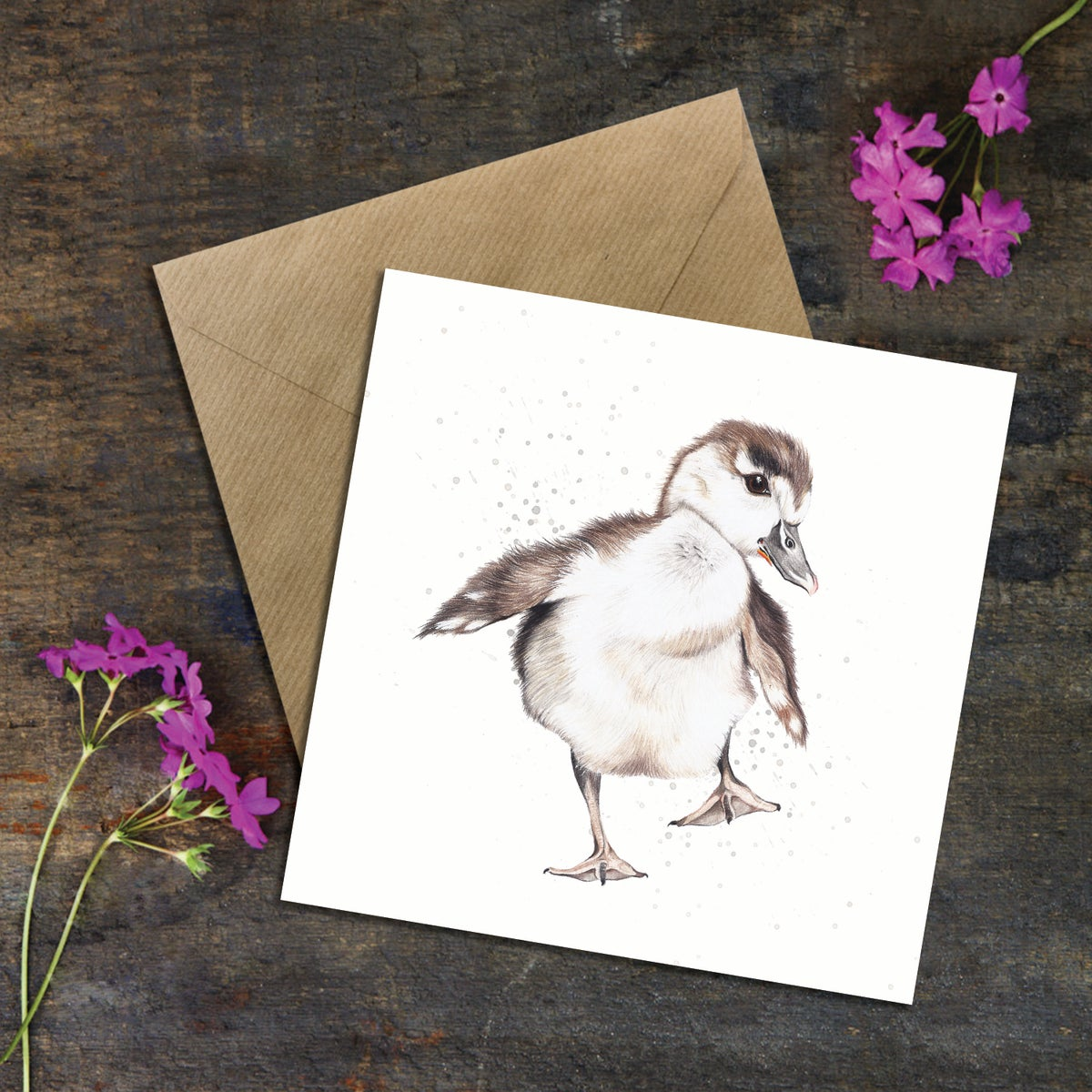 "Image of ""Baby Mallard"" Greeting Card"