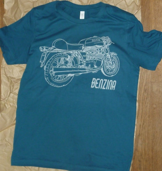 Image of MV Agusta t shirt + free UK postage!