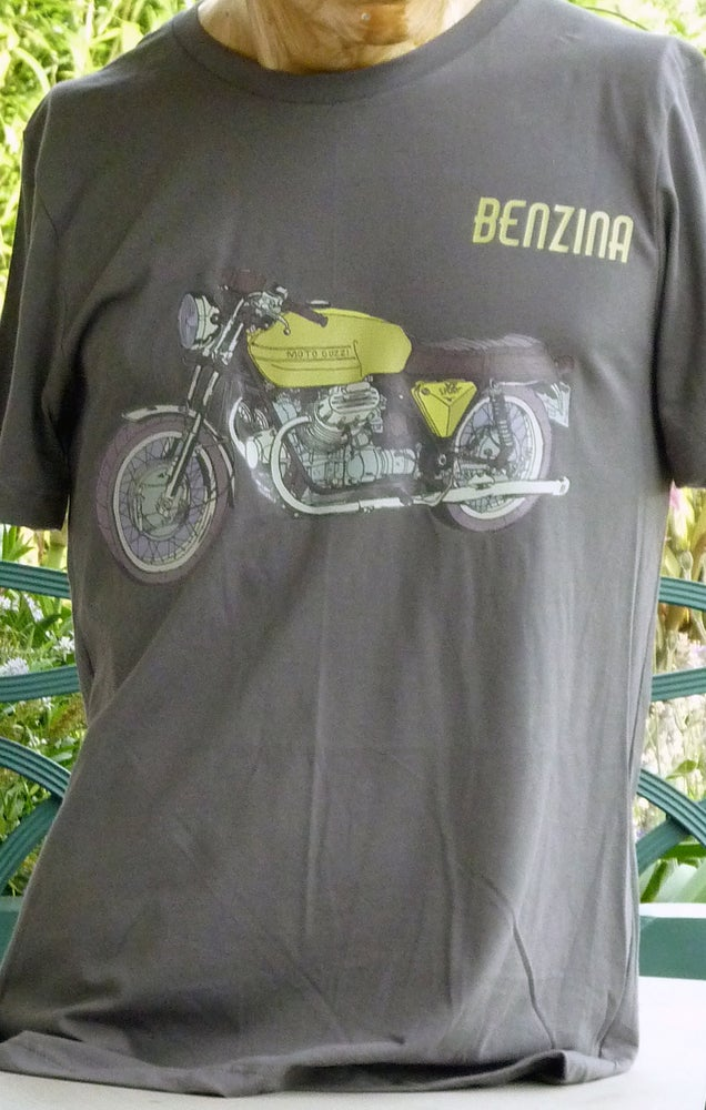 Image of Moto Guzzi t shirt + free UK postage!