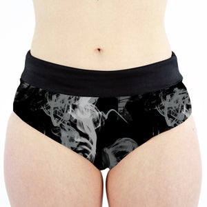 Image of Smoke High Waisted Cheeky Shorts