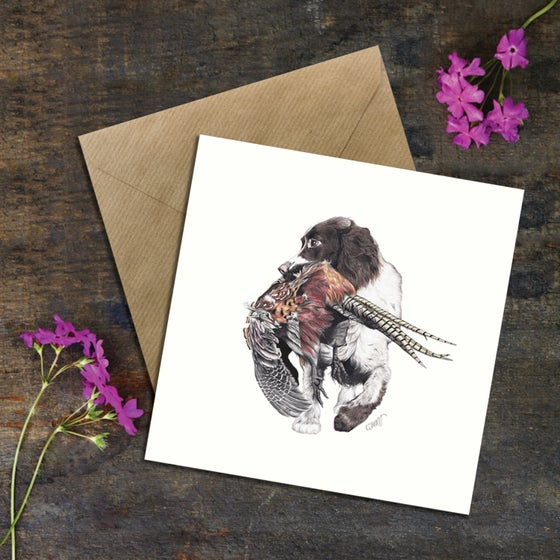 "Image of ""The Shoot"" Greeting Card"