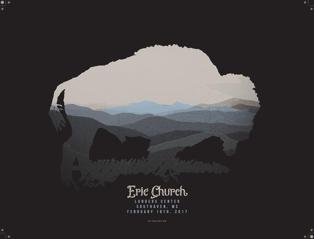 Eric Church Buffalo Poster