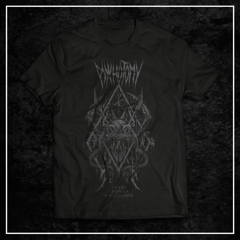 Image of Ascent Through Malevolence t-shirt