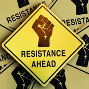 Image of Resistance Ahead Sticker