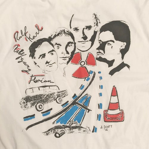 Image of jess scott kraftwerk shirt