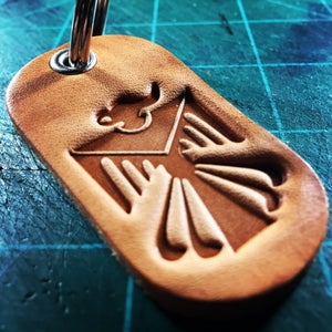 Image of Dog Tag Keychain