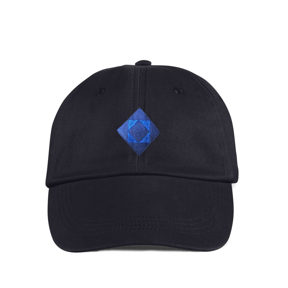 "Image of TAKEGOODCARE™ ""INDIGO DIAMOND"" DAD CAP"