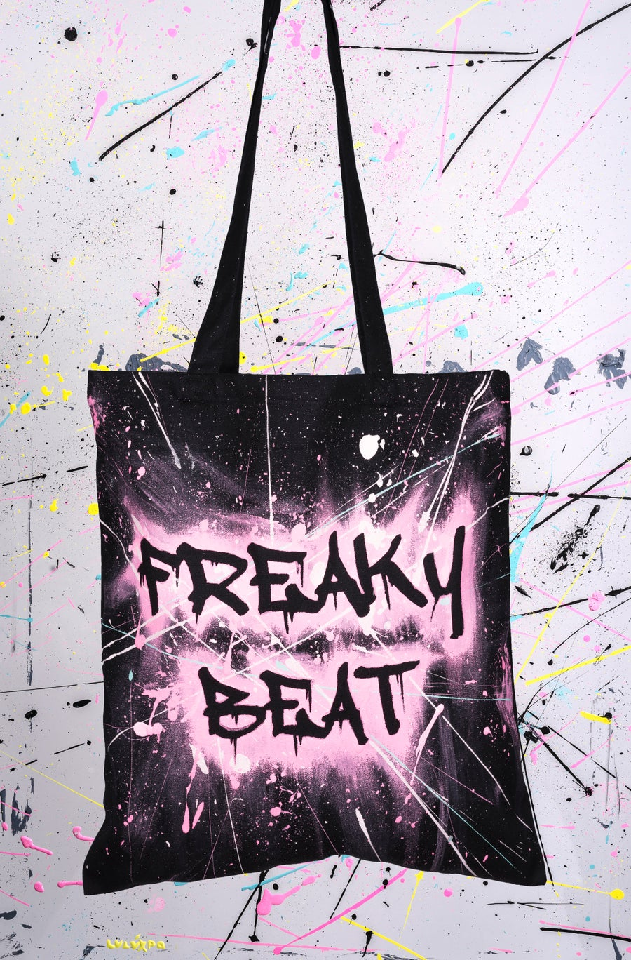 Image of TOTE BAGS SPLATCH ACRYLIC RF13