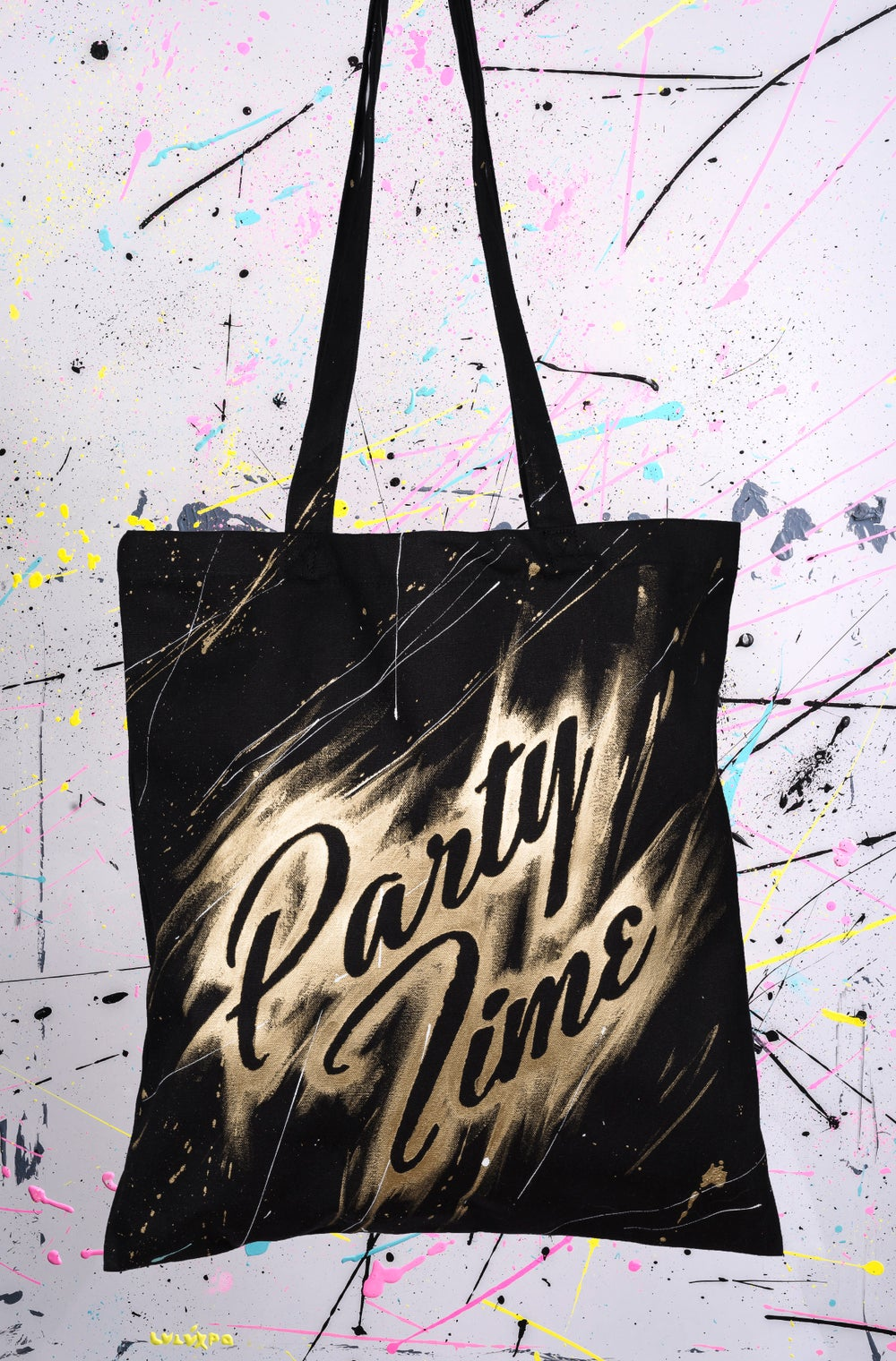 Image of TOTE BAGS SPLATCH ACRYLIC RF10