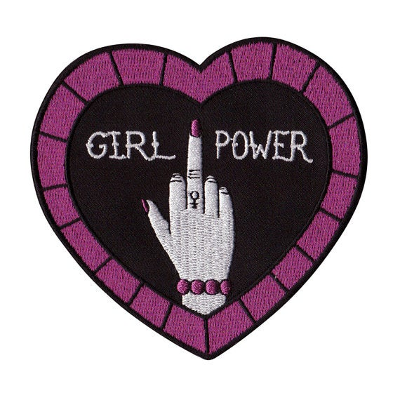 Image of Girl Power patch by Girl Gang Rules