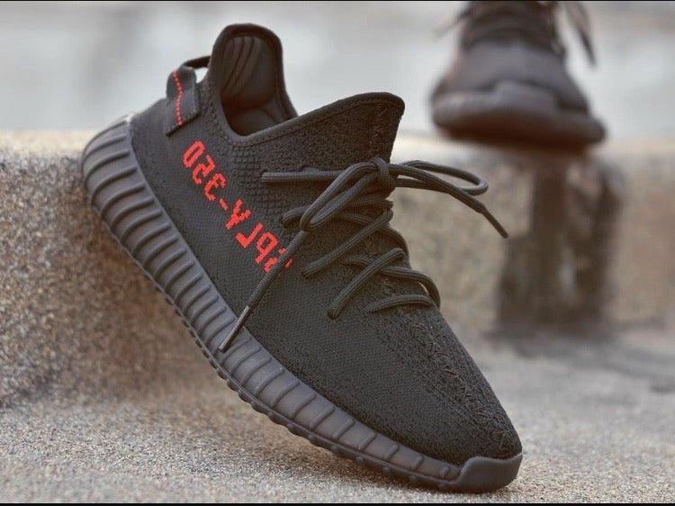 adidas yeezy boost 350 v2 black red infant