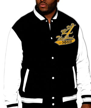 Image of Dh4 Gold Edition Letterman Jacket