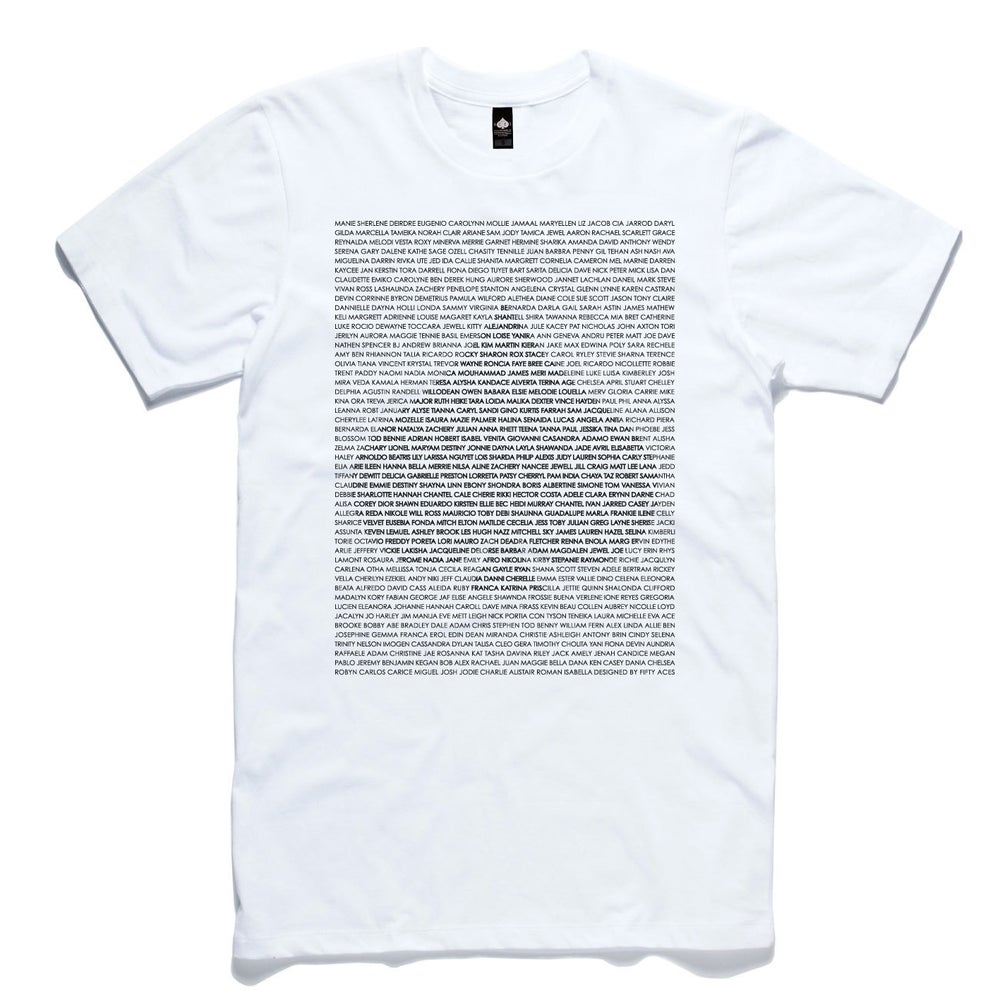 Image of BLACKLIST WHITE MENS TEE