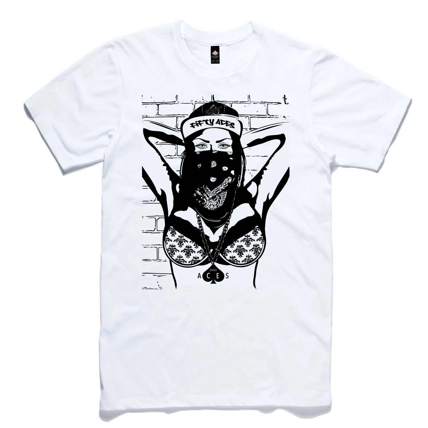 Image of GOOD DOPE WHITE MENS TEE