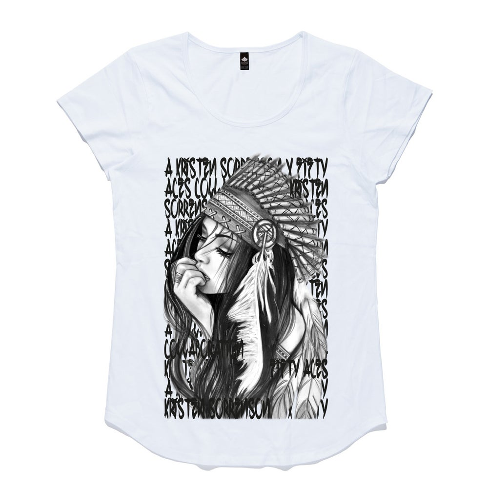 Image of NO MANS LAND WOMENS TEE
