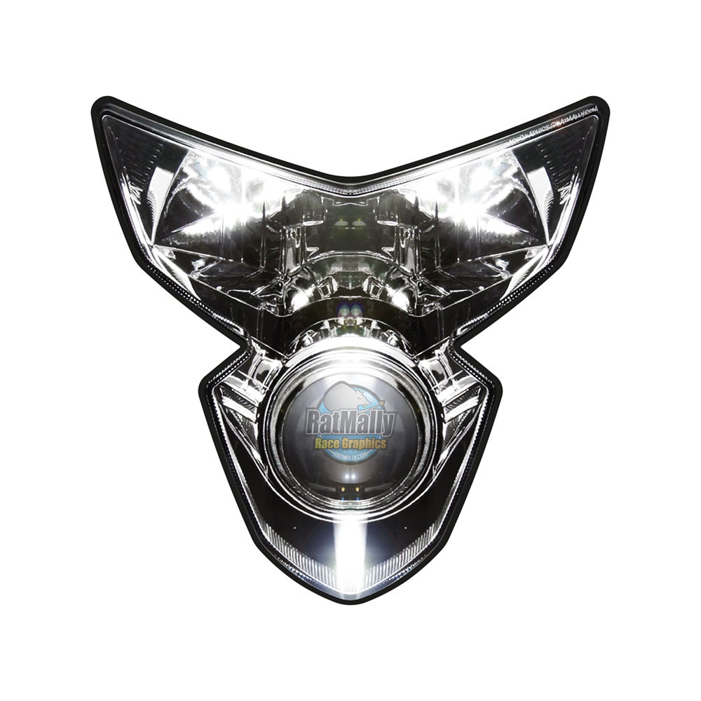 Image of Suzuki GSXR 600/750 2005-2006 Headlight Stickers