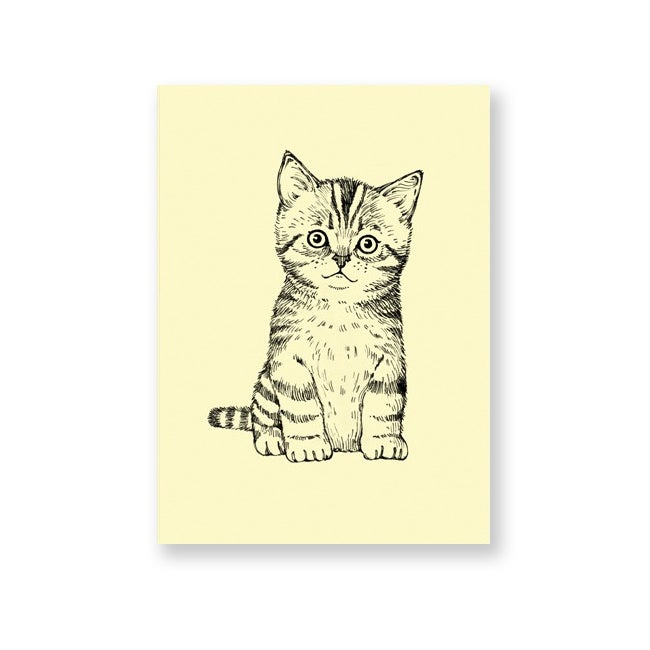 Image of Carte postale Chaton