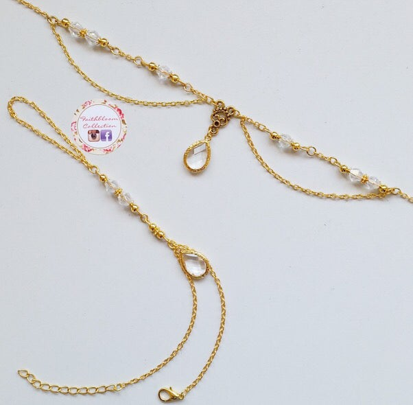 Image of Rudhabah Head Chain and Hand Chain Set