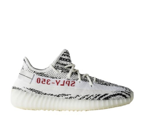 "Image of ADIDAS YEEZY BOOST 350 V2 ""ZEBRA"" CP9654"