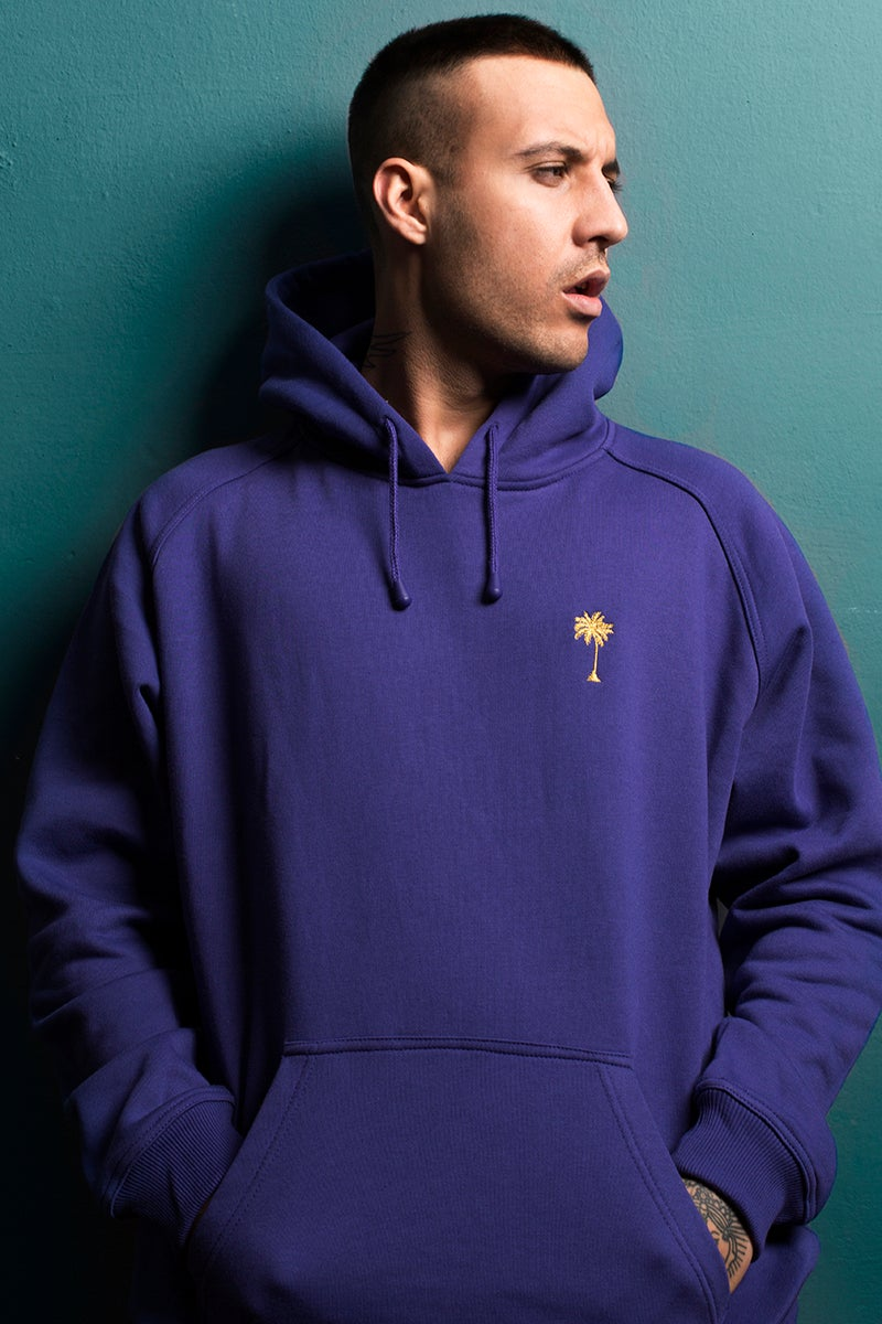 Image of HOODIE / PURPLE / MAN