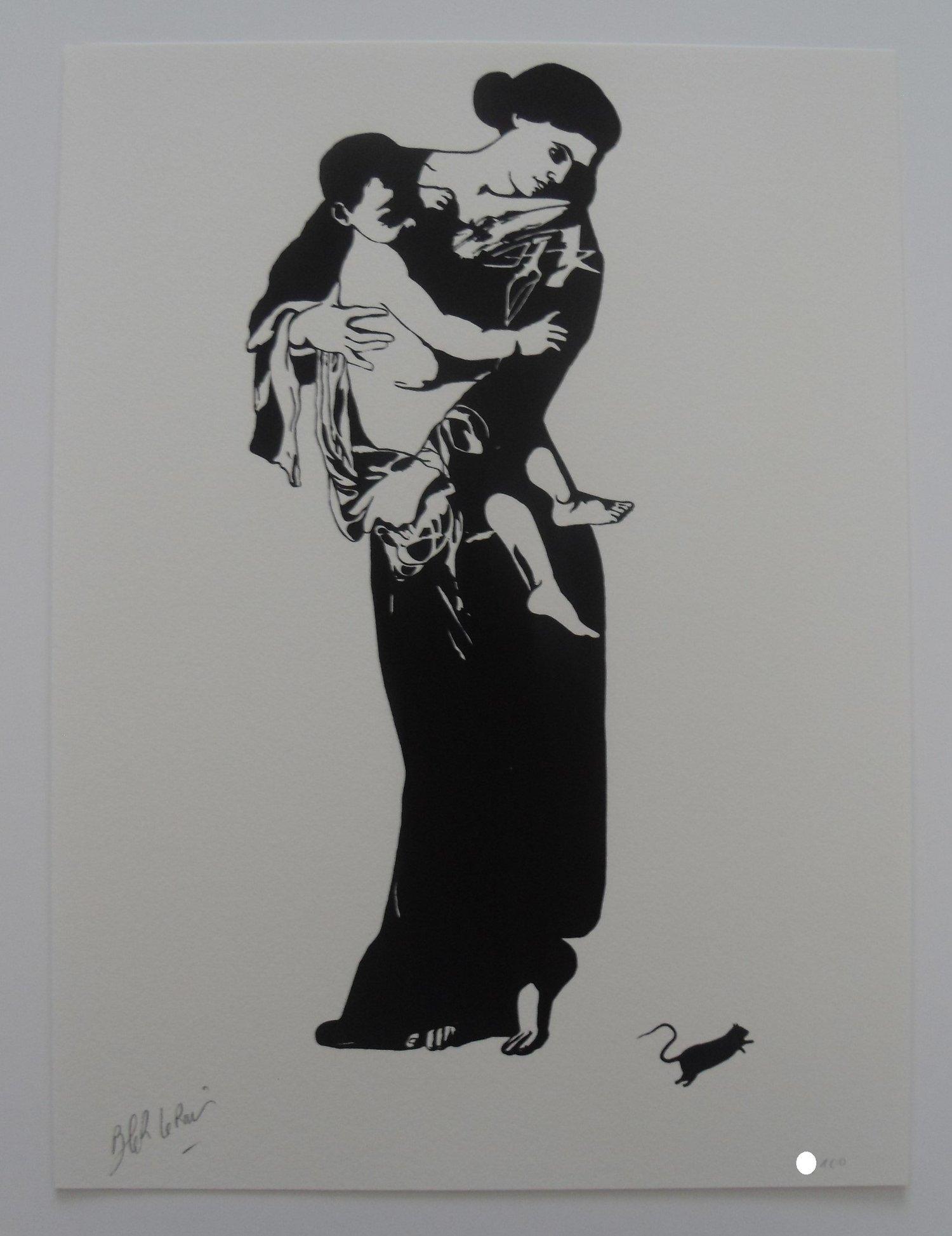 "Image of BLEK LE RAT - MADONNA ""LA MADONE"" - LTD ED 100"