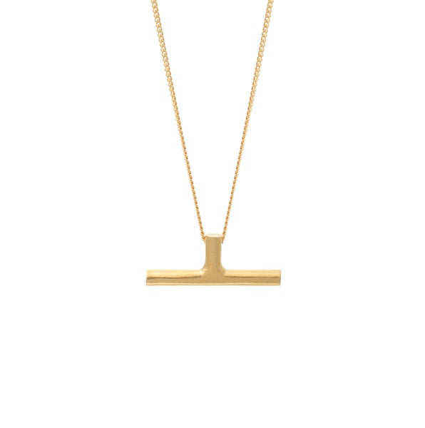 Image of Rod Gold Necklace