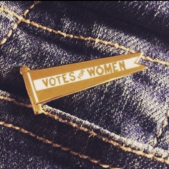 Image of Votes For Women Pin