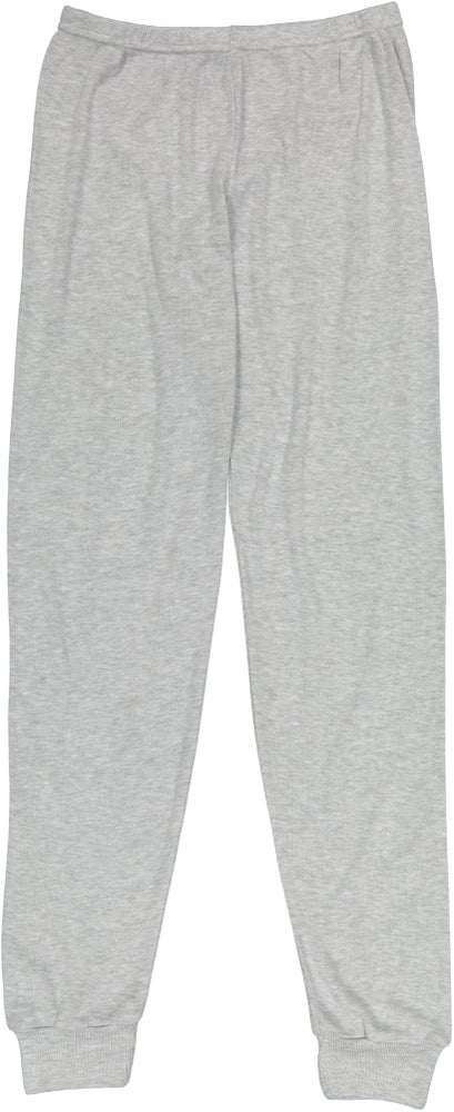 Image of JOGGER PANT RIB~ Heather Grey