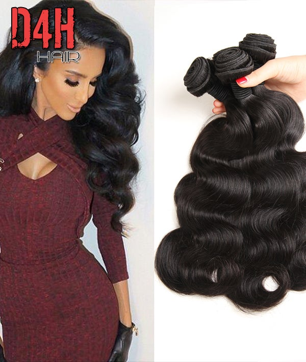 Image of Peruvian Virgin Body Wave Hair (Human) Price Per Bundle