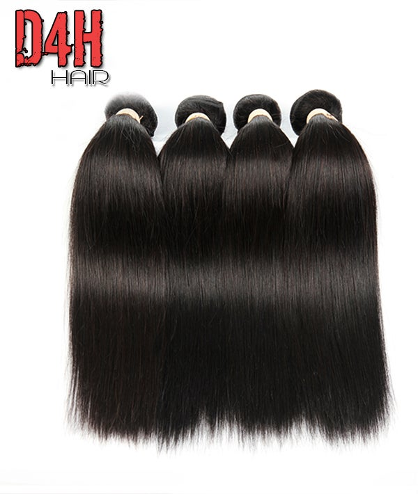 Image of Eurasian Hair Virgin Straight Hair (Human) Price Per Bundle