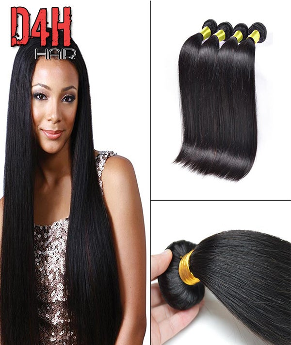 Image of Indian Virgin Straight  Hair (Human) Price Per Bundle