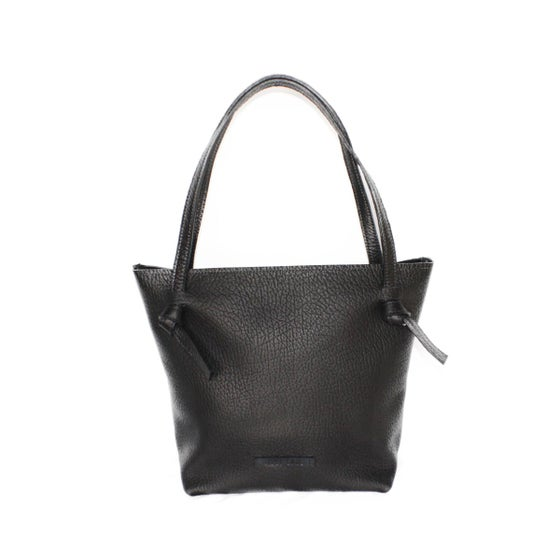 Image of KNOTTY GWEN ZIP TOTE (LARGE AND SMALL)