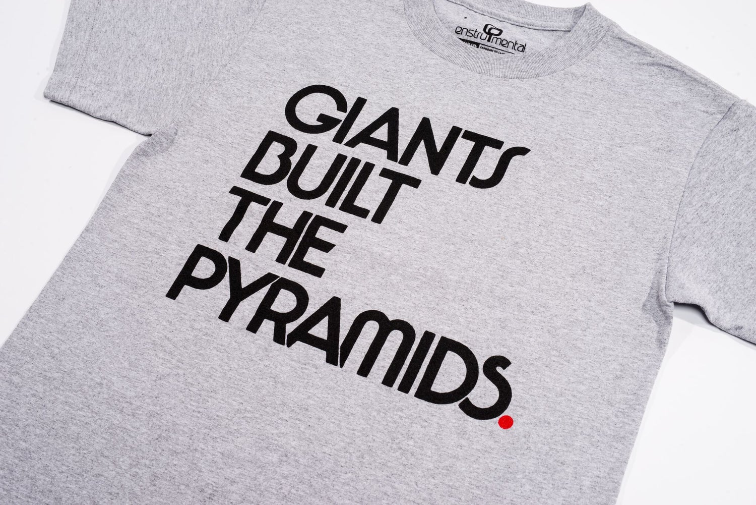 Image of GIANTS BUILT THE PYRAMIDS - Grey