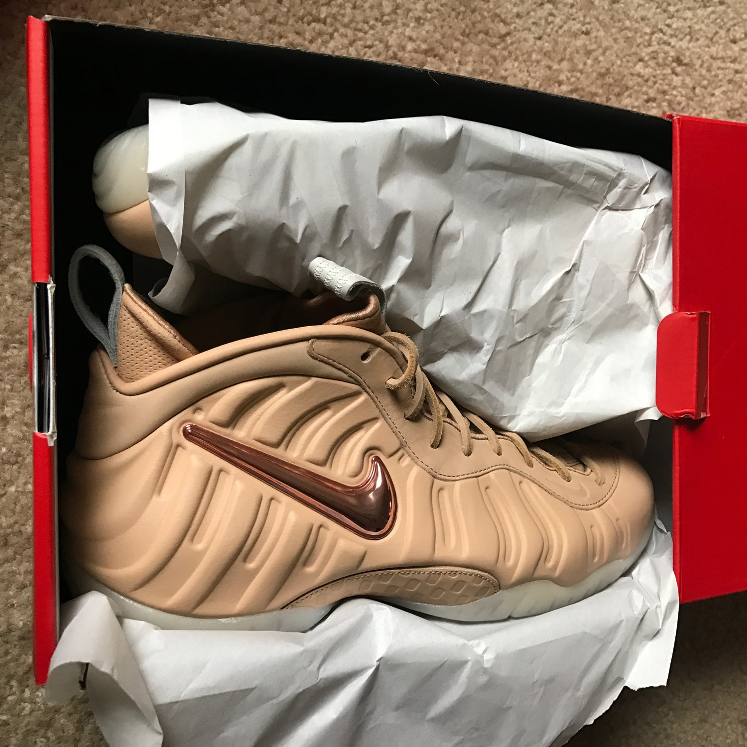 new products aa4d8 93022 Image of Nike Air Foamposite Pro Prm As Qs All Star siz 10