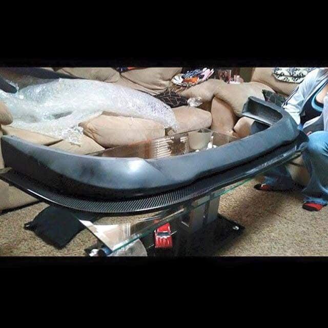 Image of 91-99 MR2 MK2 SW20 Front Lip/Front Bumper Diffuser Carbon Fiber & Fiberglass