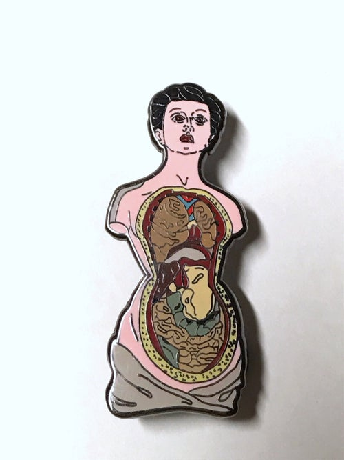Image of Open Corpses Anatomical Set / Individual Pins