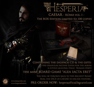 Image of CAESAR [ROMA vol.I]-BOX Edition CD Limited to 100 copies