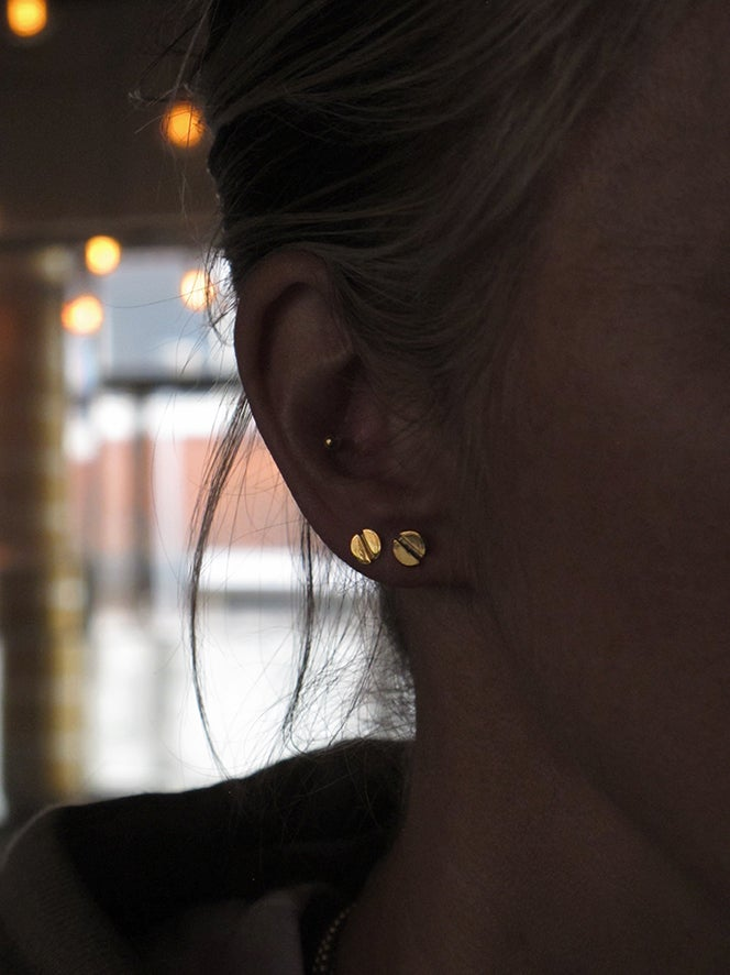 A SMALL SHINY STUD