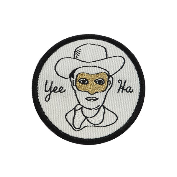Image of Yee Ha Cowboy Iron-on Patch
