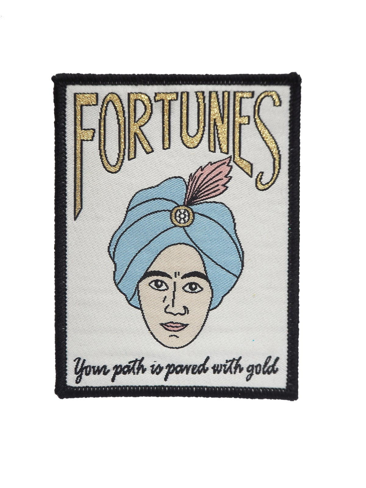 Fortunes Iron-on Patch