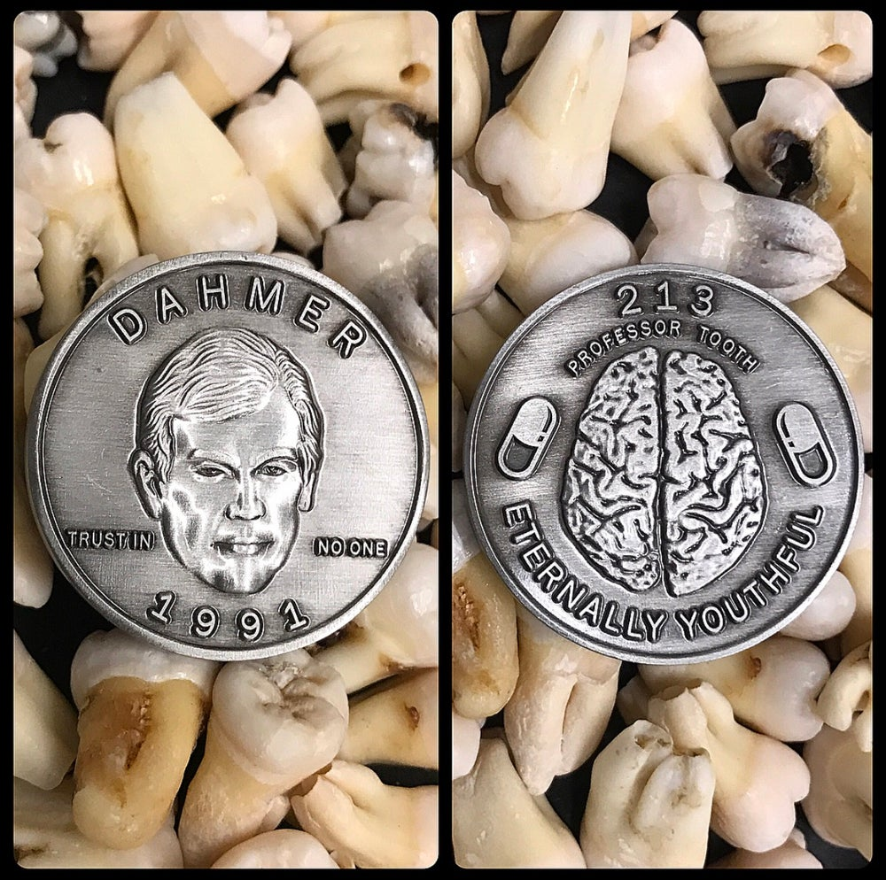 Image of Serial Killer Jeffrey Dahmer Coin