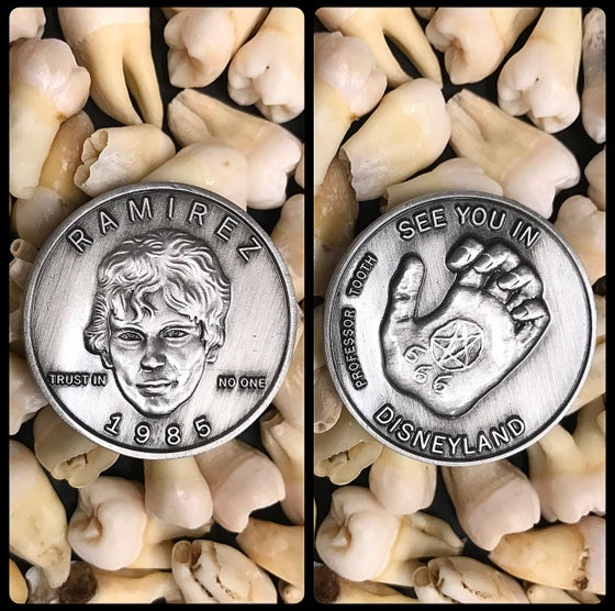 Image of Serial Killer Richard Ramirez Coin