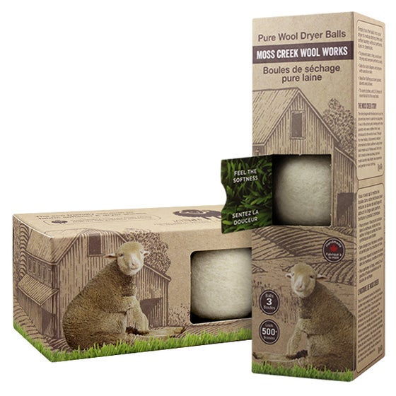 Image of 2 Barn Boxes of 3 Wool Dryer Balls (MC8000)