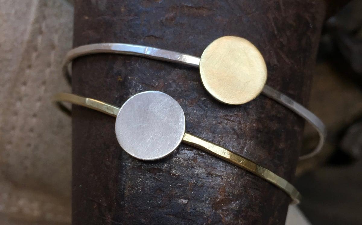 Warrior Woman Sun and Moon Bracelets