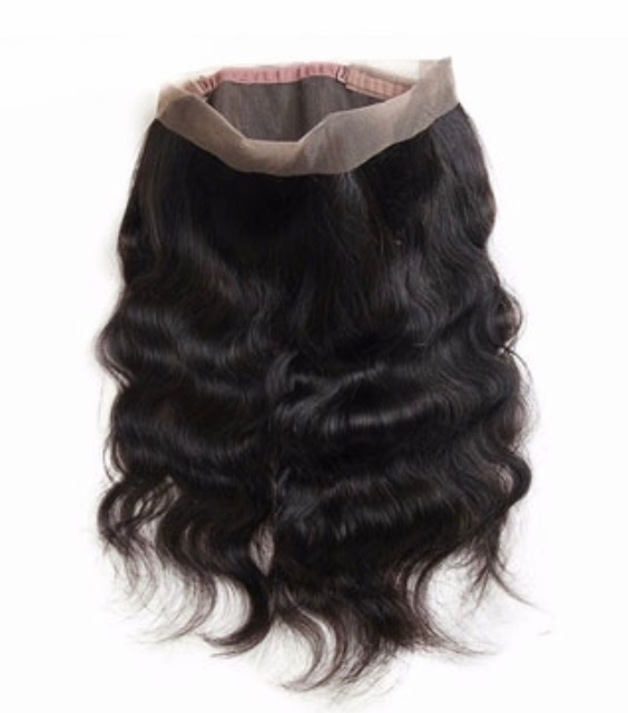 Image of Luxury Brazilian 360 Lace Frontal (Any Texture)