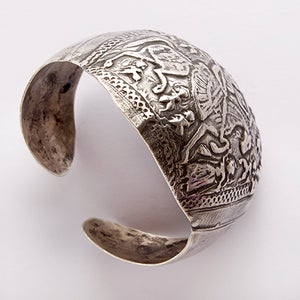 Image of Unique Handmade Vintage cuff